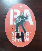 Bryan Adams - VIP / Backstage / Aftershow Pass - unbenutzt -