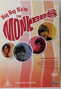 Hey Hey We're The Monkees DVD - Free Post