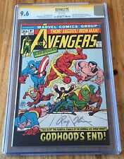 Avengers #97 CGC 9.6ss (signed by Roy Thomas) - Marvel Comics