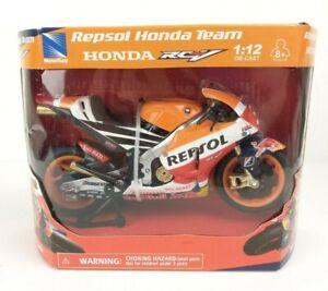 Marc Marquez Repsol 93 Honda Team 2019 Replica 1:12 Diecast Motorcycle Hobby Toy