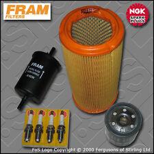 SERVICE KIT PEUGEOT 306 2.0 16V GTI-6 FRAM OIL AIR FUEL FILTER PLUGS (1998-2002)
