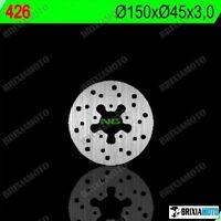 REAR BRAKE DISC ROTOR STANDARD FACTORY 50 PHANTOM R12 04/05 NG 426 150 MM
