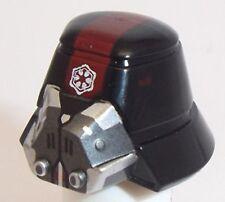 Lego Sith Trooper Star Wars Helmet x 1 Black for Minifigure