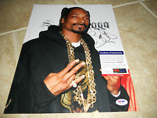 Snoop Dog Lion Signed Autographed 11x14 Music Photo PSA Certified