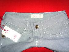 Fornarina jeans hüftjeans chino marine blogueros w27 l34 nuevo con etiqueta!!! top!!!