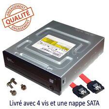 Combo lecteur DVD graveur CD interne noir SATA pour PC fixe/ordinateur de bureau