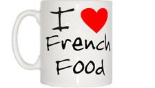I Love Heart French Food Mug