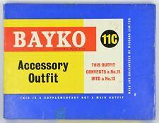 BAYKO SET 11C BUILDING CONSTRUCTION; BRICKS IN CELLOPHANE MAINLY Nr MINT EX SHOP