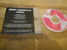 CD POP Jimmy Somerville-Coming (4) canzone PROMO Varese Sarabande SC