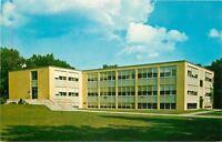 Springfield Massachusetts~Springfield College~Science Classrooms~1950s Postcard