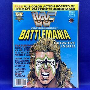 WWF Battlemania #1 Valiant Comics August 1991 Ultimate Warrior Cover High Grade