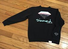 Diamond Supply Co. Black Crewneck Sweatshirt Skyline Size Large
