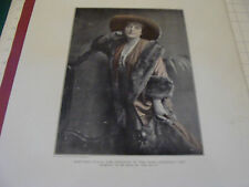 J.L. TAYLOR & COMPANY aprox 22 x 15 ad page w/ MARGARET ANGLIN  GREEN STOCKINGS