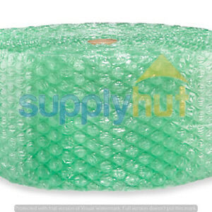 """1/2"""" SH Recycled Large Bubble Cushioning Wrap Padding Roll 200' x 12"""" Wide 200FT"""