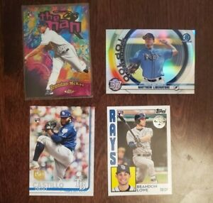 Tampa Bay Rays 290+ Card Lot - Wander, McKay, Snell, Meadows, Glasnow, Lowe