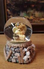 Teddy Bear Snow Globe Peace On Earth