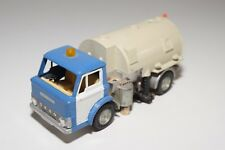 # DINKY TOY 449 JOHNSTON ROAD SWEEPER BLUE CREAM EXCELLENT REPAINT