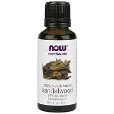 NOW FOODS 100% Natural Sandalwood Oil Blend 1 oz 30ml Santalum album Make In USA