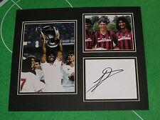 Ruud Gullit Signed AC Milan Mount