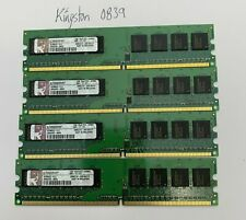 Kingston 4GB 4x1GB PC2-6400 Desktop Computer Memory KCM633-ELC DDR2-800 CL6