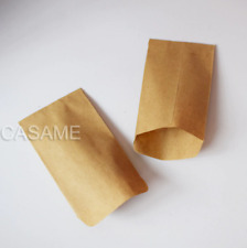 Cookie Bags 100pc Kraft Paper Bag Mini Envelope Gift Candy Snack Baking Package