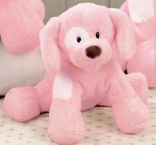 """GUND BABY - DOG - 8""""  BARKING SPUNKY -  BARKS  - PINK PUPPY -  #58373"""