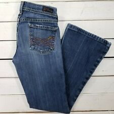 Citizens of Humanity Naomi Jeans Womens 24x28 Medium Wash Low Rise Flair J1718