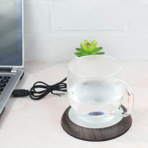 Grain Cup Warmer Heat Beverage Mug Mat Keep Drink Warm Heater Mugs Coaster