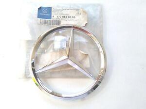 Mercedes SLK R170 Front Grille Logo Badge Emblem Star 1708880086 NEW GENUINE