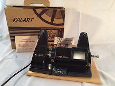 Vintage Kalart Model EV 8 Bakelite 8mm Editor Viewer in BOX with Instructions
