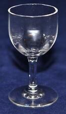 "Baccarat French Crystal MONTAIGNE OPTIC Cordial Goblet Glass 3"" Tall"