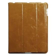 Ultra Slim Tan Nappali Hand-Crafted Genuine Leather Case for Apple iPad 2/3/4