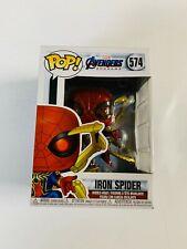 Funko Pop Marvel: Avengers Endgame - Iron Spider with Nano Gauntlet *Damaged*