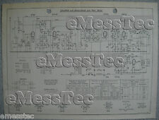 METZ Typ 380 W Schaltplan Ausgabe 1, Stand 06/51