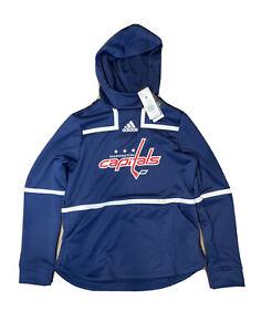 Adidas Washington Capitals Hoodie Fleece Sweatshirt NHL Women's Size Medium $80