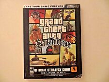 Grand Theft Auto San Andreas Game Strategy Guide Book Bradygames Playstation 2