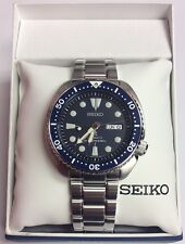 SEIKO Men's PROSPEX Automatic Blue Turtle 200M Stainless Diver's WATCH SRP773