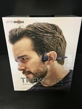 AfterShokz Trekz Air Bone Conduction Bluetooth Wireless Headphones Midnight Blue