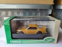 EBBRO OLDIES - NISSAN SKYLINE GTR KPGC10 [BROWN] VHTF NEAR MINT *COMBINED POST*
