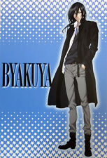 Bleach Byakuya Hair Down Fall Clothes Post Card Anime NEW