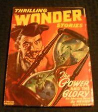 1947 Dec THRILLING WONDER STORIES Pulp Magazine v.31 #2 VG 4.0 Henry Kuttner