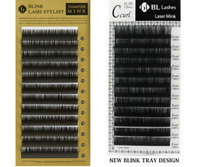 Blink Mink Lash Mixed Length J, B, C, D curl EYELASH EXTENSIONS