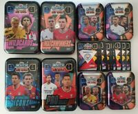 2020/21 Match Attax UEFA Empty Mini and Mega Tins - Choose your design!
