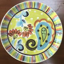 Vicki Carroll Studio Dinner Plate , Fine and Dandy