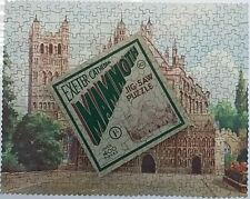 MAMMOTH No 20 Exeter Cathedral Jigsaw Picture Puzzle Complete 1930's Vintage
