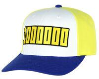My Hero Academia Mirio Tagata Lemillion 1000000 Logo Adjustable Snapback Hat Cap
