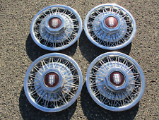 Factory Mercury Marquis Crown Victoria 15 inch wire spoke hubcaps wheel covers