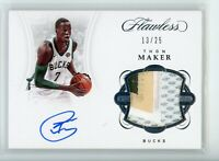 2017-18 Thon Maker 13/25 Auto Patch Panini Flawless Autographs