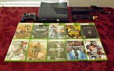 Microsoft Xbox 360 S 250GB Black Console w/ 10 Great Games & Much More!