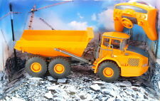 Radio Controlled Engineering Dump Truck 1:28 Scale - RC Construction Loader